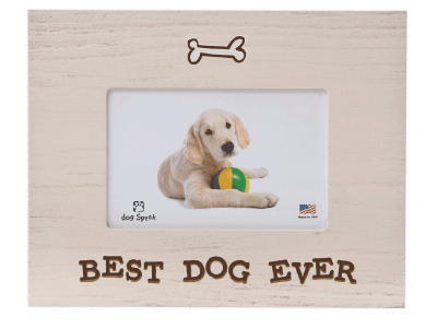 "Gifts: Picture Frame ""Best Dog Ever"""