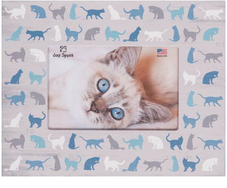 Gifts: Picture Frame All Over Cats Design