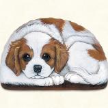 Pupper Weight Cavalier: Soft Weighted Fabric Beanie