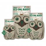 Dog Toy: Eco Owl Quiet Dog Toy Available in 3 Sizes (no Squeaker)