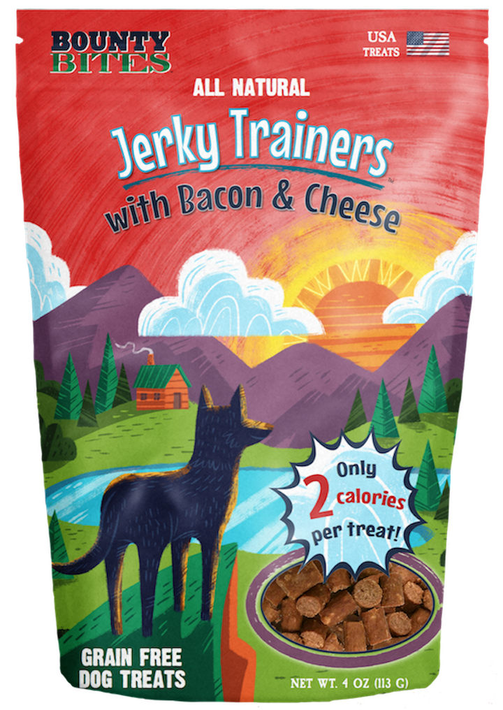 Treats: Jerky Trainers with Bacon with Cheese