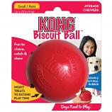 Dog Toy: Kong Biscuit Ball in Two Sizes