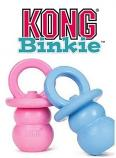 Dog Toy: Kong Binkie Blue or Pink Size Medium or Large