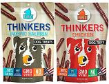 Treats: Plato Thinker Sticks Sold in the bag: Duck, Chicken, or Salmon