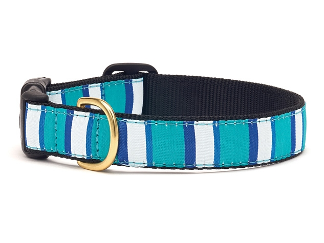 "Dog Collars: 5/8"" or 1"" Wide Bermuda Bay Clip Collar"
