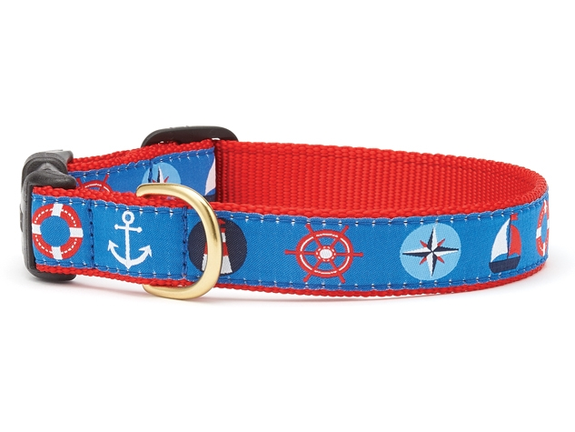 "Dog Collars: 5/8"" or 1"" Wide First Mate Clip Collar"