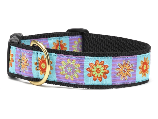 "Dog Collars: 5/8"" or 1"" Wide Lola Clip Collar"