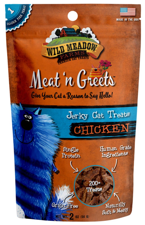 Cat Treats: Meat 'N Greets Chicken