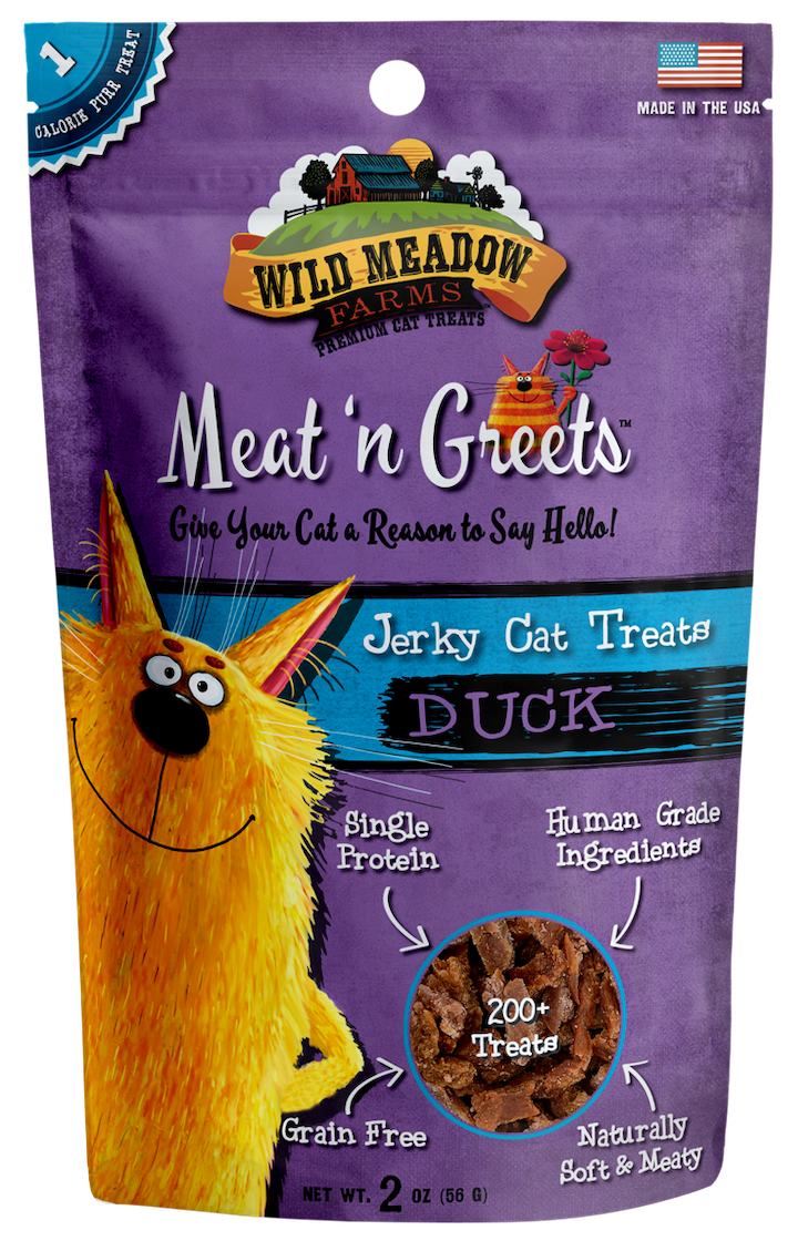 Cat Treats: Meat 'N Greets Duck