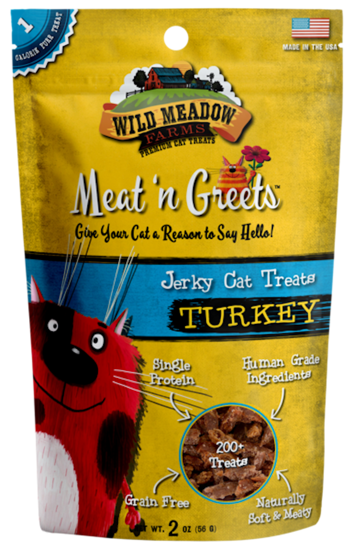 Cat Treats: Meat 'N Greets Turkey