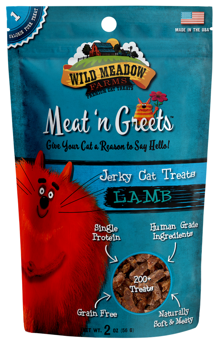 Cat Treats: Meat 'N Greets Lamb