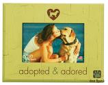"Gifts:  Picture Frame ""Adopted & Adored"""