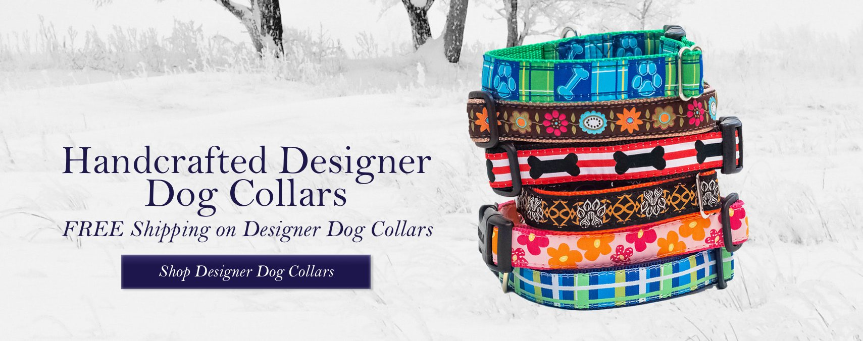 Shop Designer Dog Collars